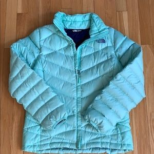 The North Face Ladies down Jacket.  Size M